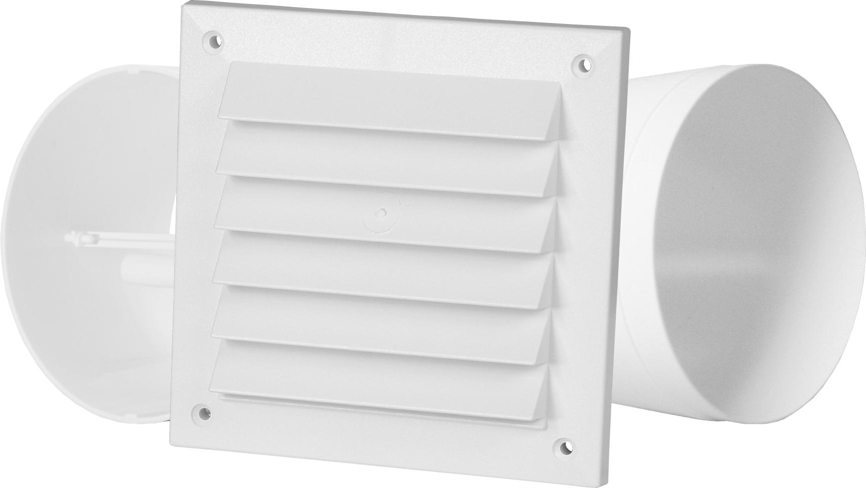Pax Intellivent tilbehør: Vegg-gjennomføringssett Ø125mm