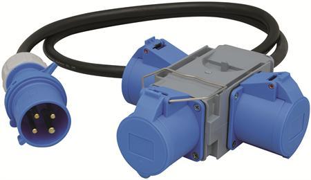 Wimpel 230V 3-fas 1,5m