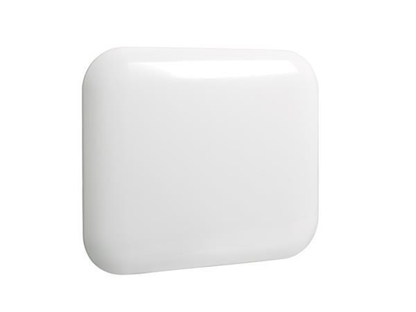 Eker Design 300W hvit, elektronisk termostat
