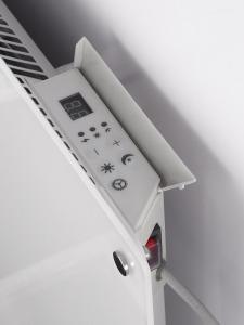 Wimpel Glassovn WiFi 1200W hvit, dag- og nattsenkning