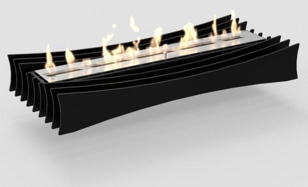 Wimpel Aspen Lux 400 innsats sort