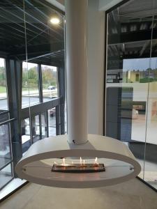 Wimpel Ellipse Ceiling takhengt modell hvit