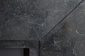 Wimpel Ruby Nero 5820B frittstående polert sort