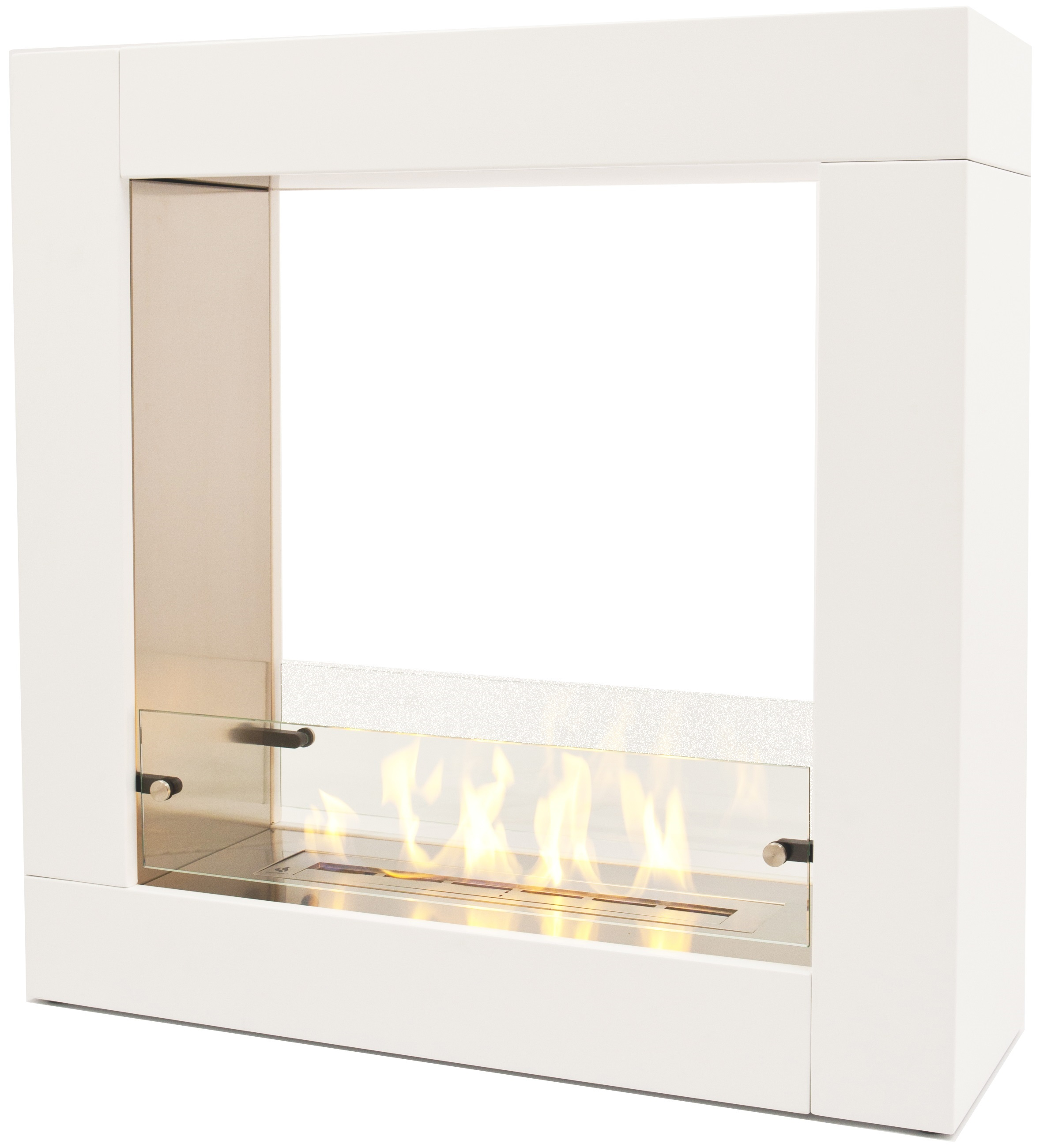 Wimpel Sydney gulvmodell hvit med polert innside