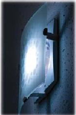 Wimpel Blauberg Glory frostet glass Ø100mm