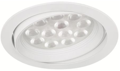 LED Jupiter MD-110 – 12×1,2W hvit IP21