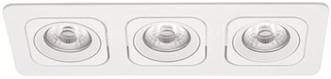 LED Square Planet MD-125 – 3x6W hvit IP21