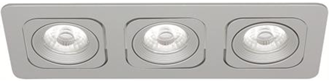 LED Square Planet MD-125 – 3x6W satin IP21