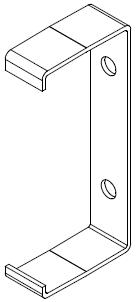 Eltra E-050 uten ramme tilbehør: Festebrakett