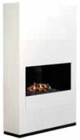 Wimpel Ruby Ambiance 1620C frittstående med bakvegg hvit