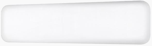Eker Design 800W hvit, dag- og nattsenkning