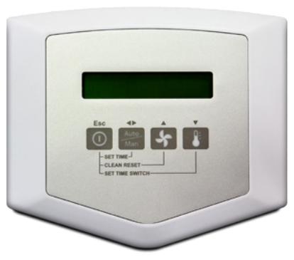 Comfort-E tilbehør: Kontrollmodul med panel DA trådløs