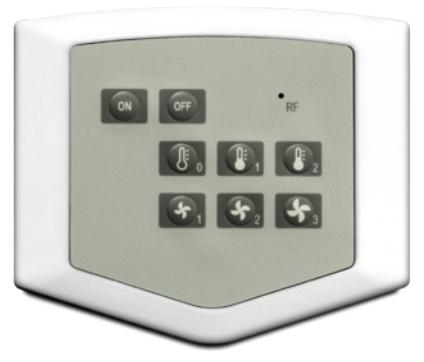 Comfort-E tilbehør: Kontrollmodul med panel DM trådløs
