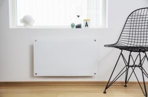 Wimpel Glassovn 600W hvit, dag- og nattsenkning