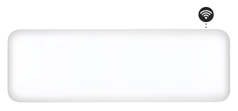 Eker Design WiFi 800W hvit, dag- og nattsenkning