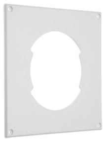 Pax 90 tilbehør: Dekkplate hvit