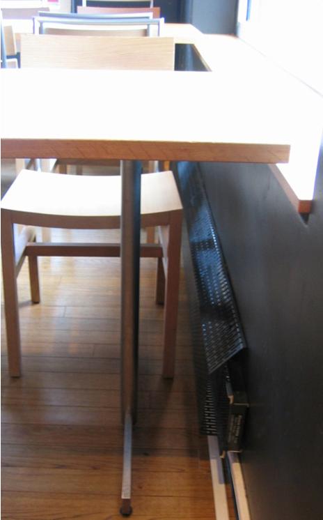 FX125k/t og FX175k/t tilbehør: Gitter 0,5m hvit