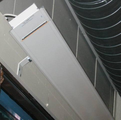 FX125k/t og FX175k/t tilbehør: Skråbrakett hvit