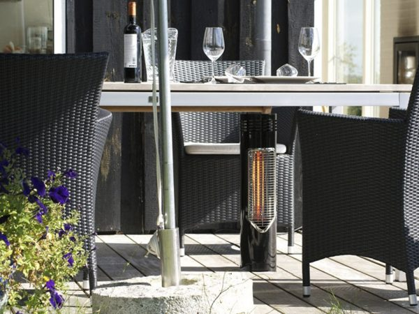 Wimpel Villa Bordvarmer 550W grå IP44