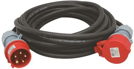 Wimpel 400V 32A 3-fas 10m IP44
