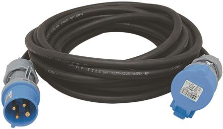 Wimpel 230V 16A 3-fas 10m IP44