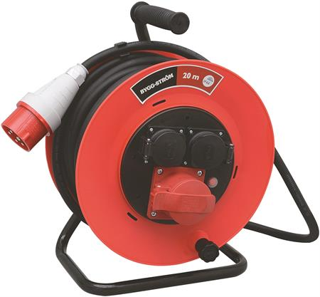 Wimpel 230V 16A 3-fas 20m IP44