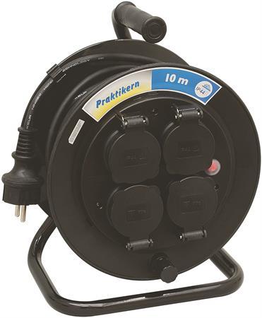 Kabeltrommel – Wimpel 230V 1-fas 10m IP44