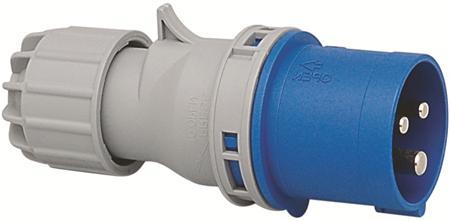 Wimpel 230V 16A 2-fas IP44