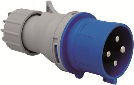 Wimpel 230V 16A 3-fas IP44