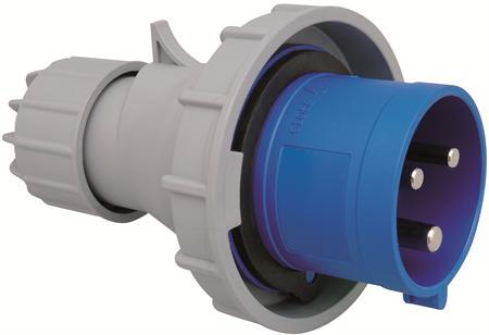 Wimpel 230V 32A 3-fas IP67