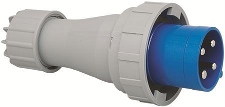 Wimpel 230V 63A 3-fas IP67