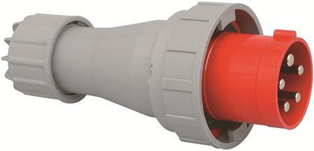 Wimpel 400V 125A 3-fas IP67