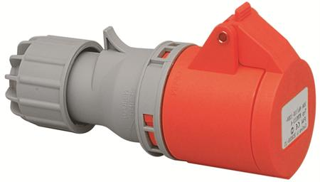 Wimpel 400V 32A 3-fas IP44 (med lokk)