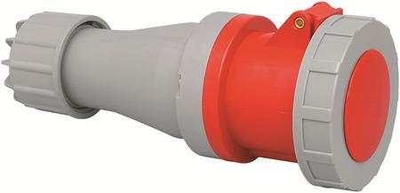 Wimpel 400V 125A 3-fas IP67 (med lokk)