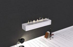 Wimpel Toscana veggmodell hvit, elektronisk