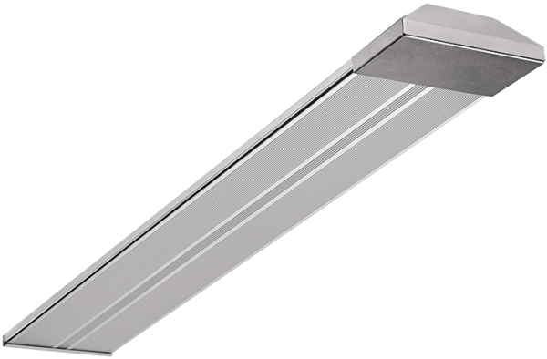 Wimpel Tak/Vegg/Vinkel BA-2 1000W IP54 sølv