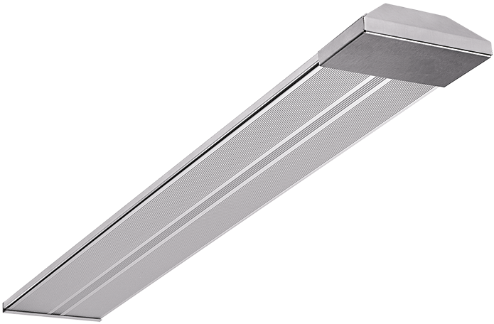 Wimpel Vegg/Tak/Vinkel BA-2 800W IP54 sølv