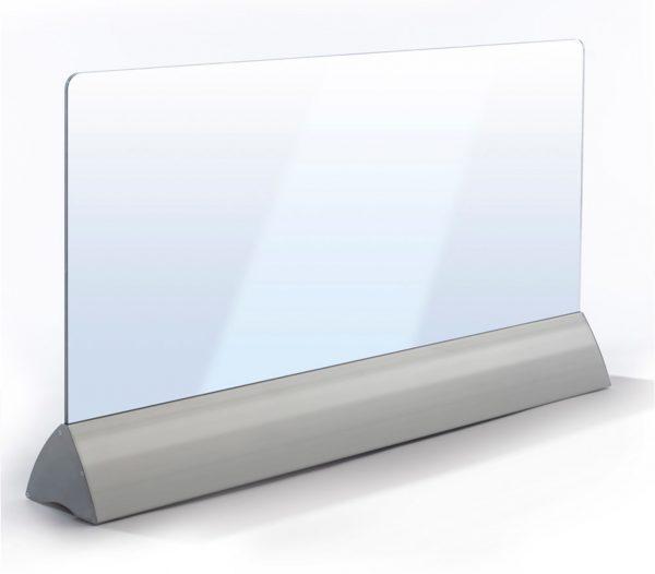 Wimpel Transparent Gulv 500W sølv LED