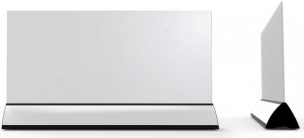 Wimpel Transparent Gulv 600W sort