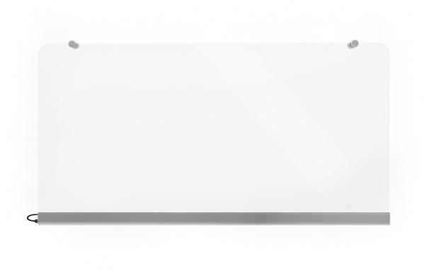Wimpel Transparent Vegg 500W sølv