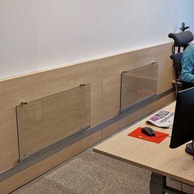 Panelovn - Wimpel Transparent Vegg 500W sølv miljøbilde 3
