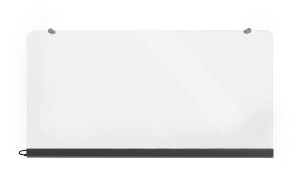Wimpel Transparent Vegg 500W sort