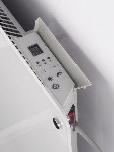 Wimpel Glassovn WiFi 1000W hvit, dag- og nattsenkning