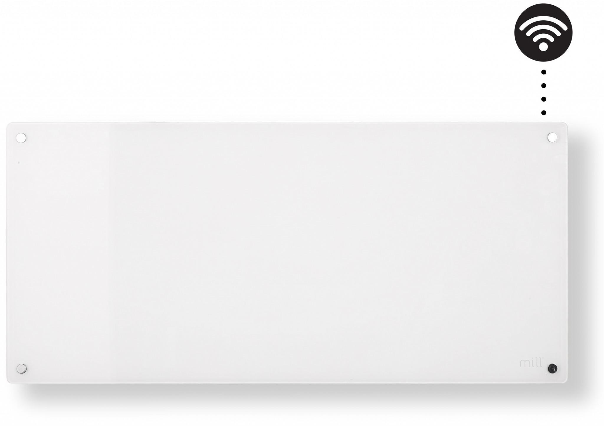Wimpel Glassovn WiFi 900W hvit, dag- og nattsenkning