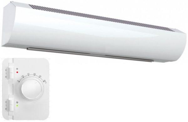Wimpel Kompakt 3/6kW for høyder opp til 2,5m hvit