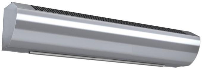 Wimpel Kompakt 3/6kW for høyder opp til 2,5m sølv