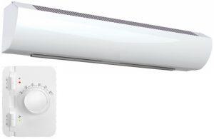 Wimpel Kompakt 4,5/9kW for høyder opp til 2,5m hvit