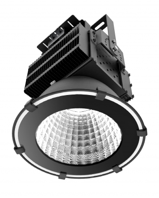 Flombelysning - Wimpel FloodExtreme lyskaster 500W LED_IP65 - ned