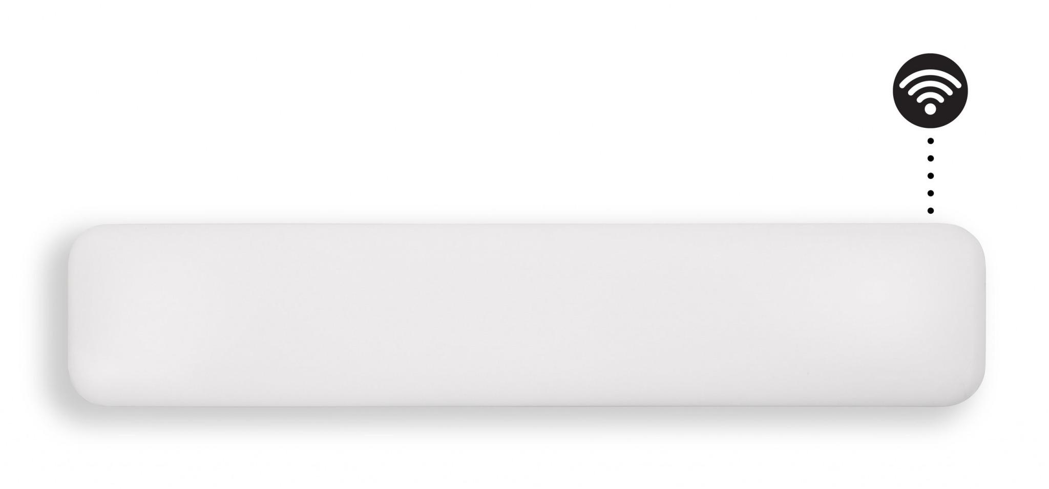 Eker Design WiFi 1000W hvit, dag- og nattsenkning