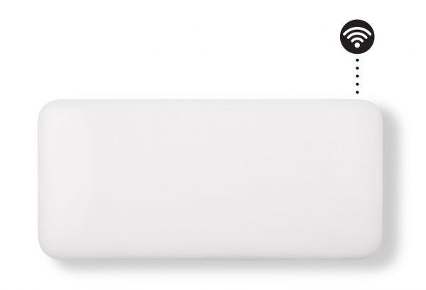 Eker Design WiFi 900W hvit, dag- og nattsenkning